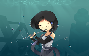 Elementary Waterflute by Drawn-Mario