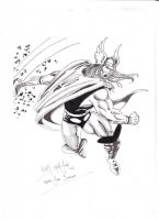 Thor John Buscema tribute by adey01