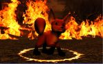 Pyro - Fox of Fire by HectorNY