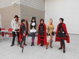 RWBY Group - MCM May 2014 by DeadlyObsession