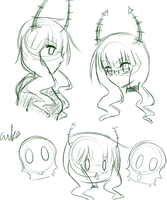 Dead Master Doodles by Aiiika