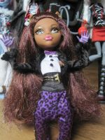 Clawdeen wolf make me howl at the moon by floraxj9
