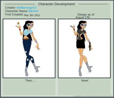 Character development for Stardust by wolfdemongirl13