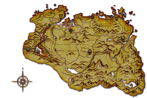 Skyrim Map icon by SlamItIcon