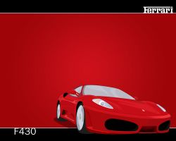 Ferrari F430 Vector by V3ct0r