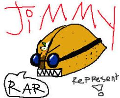 JIMMY the taco with goggles. by tomoko-nyo