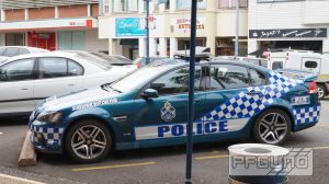Queensland Police Highway Patrol Car by pfgun0