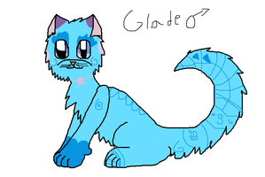 Glade The Cat by Fwuffywolf