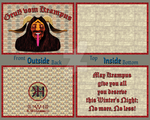 Krampus Card Project by 2ravens72