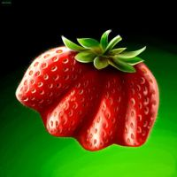 Monster Strawberry by ocarina-CD