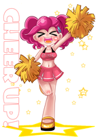Cheerleader Pinkie by basakdash
