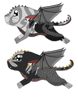 new dratzir adopts by oOChaosKruemelOo