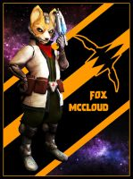 Fox McCloud by UndyingNephalim