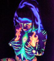 my work - bodypaint by Glittergrrrl1204