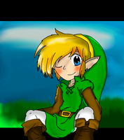 my -first- Link :colored version: by leehalea