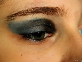 Ravenclaw make-up. by EamyCross