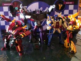 the animated stunticons by blackout501st