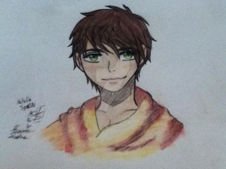 Hetalia Spain by franny14