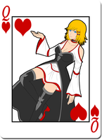 Queen of Hearts: Cindell by Samuraiflame