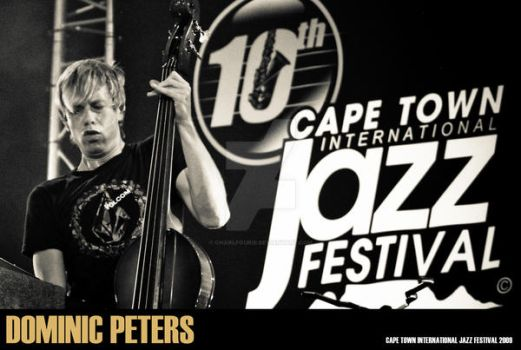 CT Jazz Fest Dominic Peters 1 by charlfourie