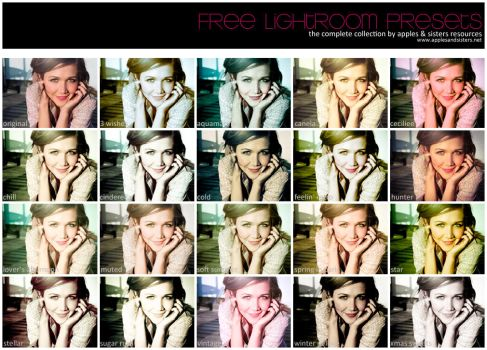 Free Presets: Updated + 3 New by LalaM