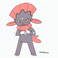 Weavile Attacking