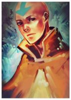 . avatar - aang . by chocosweete