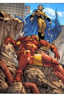 el SENTRY beats IRONMAN..omg. by MarteGracia