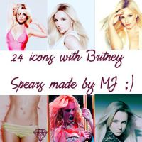 Icon Pack with Britney Spears by sexylove555