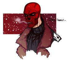 Red Skull by TinyTale