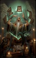 MajorArcana IX by ArtofTy