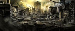 Reactor ruin speedpaint by Delun
