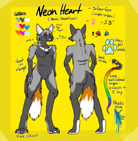 Neon Heart Reference 2012 by Aquillic-Tiger
