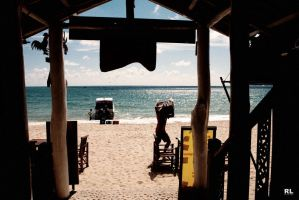 beach love cafe by Rlew
