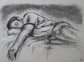 Lounging Figure by SweetDreamscapes