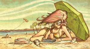 Beach Bum by EvJones