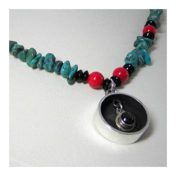Kinetic time Design Turquoise by 925-STUDIO