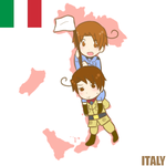 :APH: In the Map - Italy by s-a-n-d-y