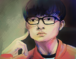 161027 Faker by shougar