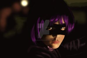 Hit Girl by angeldelaoscuridad