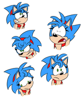 Female Sonic Reaction Images by Weevmo