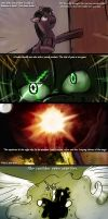 The story of Esta Midnight, page 3: Too slow... by AtomicWarpin