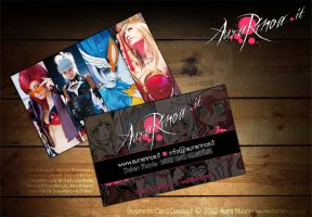 Cosplay Business Card by AuraRinoa