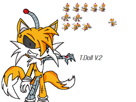 Tails Doll V.2 by parrishbroadnax