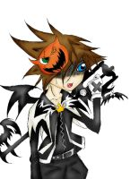 Halloween Town Sora Colored by Syra-728