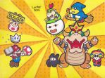 Paper Mario Sticker Star Tribute by Isuckworse