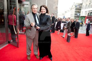 William Friedkin and Sherry Lansing by Coquin