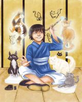 The Boy Who Drew Cats by MallettePagano1