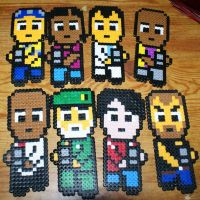 L4D and L4D2 Perler by Bnutting91