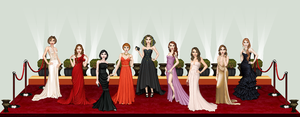 Hollywood Dolls by isoldel